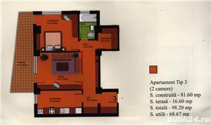 Apartament cu 2 camere+dressing+ loc de parcare - imagine 2