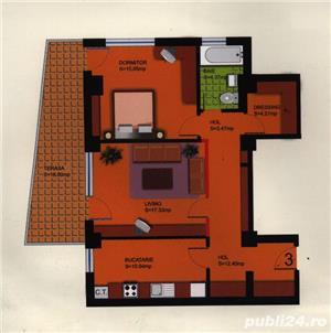 Apartament cu 2 camere+dressing+ loc de parcare - imagine 1