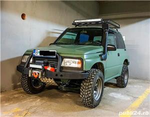 Suzuki Vitara 1.6 8V benzina 80cp 1998 modificat pt offroad - imagine 1