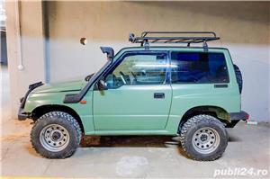 Suzuki Vitara 1.6 8V benzina 80cp 1998 modificat pt offroad - imagine 3