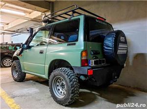 Suzuki Vitara 1.6 8V benzina 80cp 1998 modificat pt offroad - imagine 4