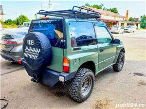 Suzuki Vitara 1.6 8V benzina 80cp 1998 modificat pt offroad - imagine 8