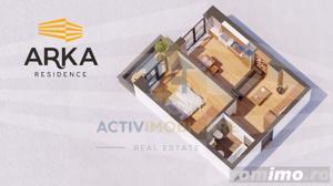 Apartament 2 camere, lux, 44 mp, zona Garii, 59.500 Euro - imagine 8