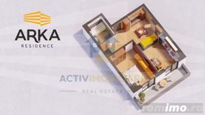 Apartament 2 camere, lux, 44 mp, zona Garii, 59.500 Euro - imagine 9