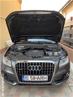 Audi Q5 Quattro S-Line interior/exterior, 2.0 TDI 177 CP, Euro5/AdBlue, 2013, Full Options - imagine 13