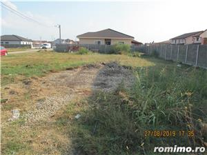 e) Mosnita Noua, teren ideal pt casa unifamiliara, zona locuita, utilitati - imagine 2