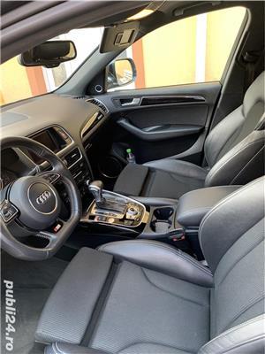 Audi Q5 Quattro S-Line interior/exterior, 2.0 TDI 177 CP, Euro5/AdBlue, 2013, Full Options - imagine 11