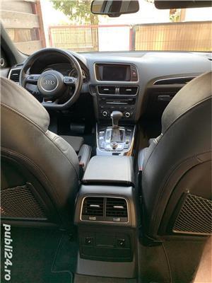 Audi Q5 Quattro S-Line interior/exterior, 2.0 TDI 177 CP, Euro5/AdBlue, 2013, Full Options - imagine 9