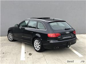 Audi A4 2.0 TDI 170 CP 2010 *Led*Xenon*Panoramic*Piele* S-line * FULL FULL OPTIONS - imagine 4