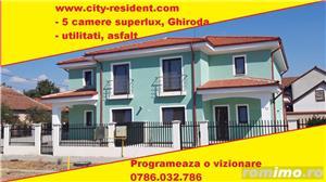 CITY RESIDENT - Duplex SUPERLUX Ghiroda, ultimul trend 4 camere, 2 bai, pret proprietar/ dezvoltator - imagine 1