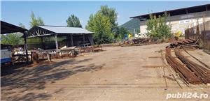 Zona Combinat, vând teren cu 2 hale metalice  - imagine 4