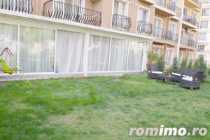 Apartament 2 camere Cosmopolis terasa20 mp+gradina 43mp,vedere piscina - imagine 11