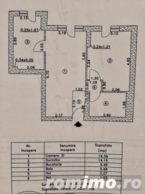 Apartament 2 camere Cosmopolis terasa20 mp+gradina 43mp,vedere piscina - imagine 9