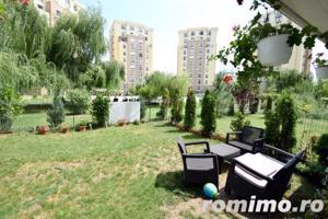 Apartament 2 camere Cosmopolis terasa20 mp+gradina 43mp,vedere piscina - imagine 12