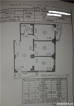 Apartament spatios Oltenitei- 8 minute metrou  - imagine 3