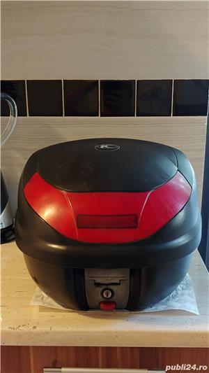 Cutie portbagaj moto scuter atv - topcase Kappa 46 (GIVI) - imagine 1