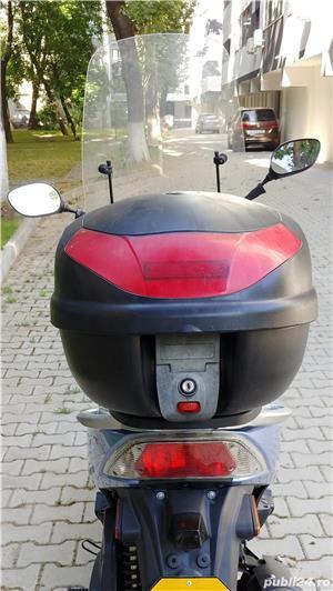 Cutie portbagaj moto scuter atv - topcase Kappa 46 (GIVI) - imagine 3