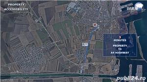 Teren de Vanzare - 13,000 mp - Constanta Sud  (P.U.Z. Aprobat) - imagine 3