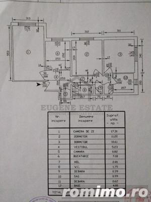 Apartament 3 camere in Tei - imagine 13