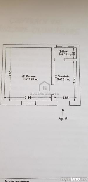 Apartament 1 camera, zona Traian - imagine 9