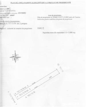 Teren 5000 mp , Poiana, jud. Constanta - imagine 1