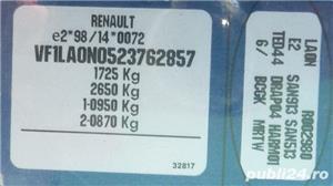 Renault Megane 1.9 dTI diesel, consum mic, focal, Alpine, subwoofer - imagine 10