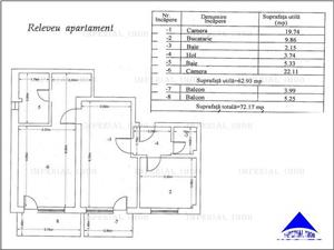 Apartament 2 camere, 72 mp, imobil 2017, Titan – Th. Pallady – Aleea Mizil - imagine 12