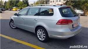 Vw Passat 2.0 diesel 140 cp an 2013 Euro 5 automat Alcantara RAR efectuat - imagine 6