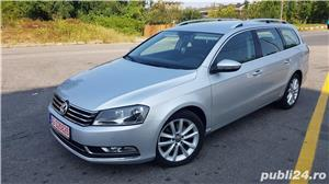 Vw Passat 2.0 diesel 140 cp an 2013 Euro 5 automat Alcantara RAR efectuat - imagine 2