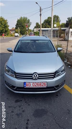 Vw Passat 2.0 diesel 140 cp an 2013 Euro 5 automat Alcantara RAR efectuat - imagine 4