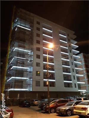 Proprietar-Vand-Apartament 2 camere-bloc nou 2019 (se va preda mobilat si utilat complet) - imagine 1