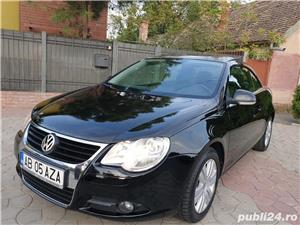 Volkswagen Eos 2.0 TDI 140 CP 2007 Panoramic Decapotabil - imagine 2