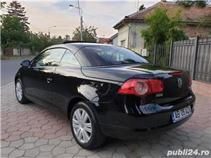 Volkswagen Eos 2.0 TDI 140 CP 2007 Panoramic Decapotabil - imagine 7