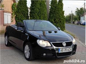 Volkswagen Eos 2.0 TDI 140 CP 2007 Panoramic Decapotabil - imagine 3
