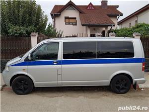 VW Transporter T5 Caravelle, 2.5 tdi, 131cp, 8 locuri, lung, Manuala - imagine 4