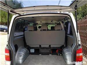 VW Transporter T5 Caravelle, 2.5 tdi, 131cp, 8 locuri, lung, Manuala - imagine 6
