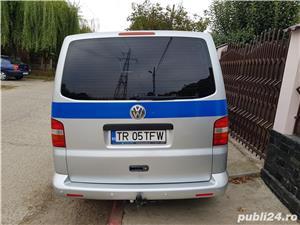 VW Transporter T5 Caravelle, 2.5 tdi, 131cp, 8 locuri, lung, Manuala - imagine 9