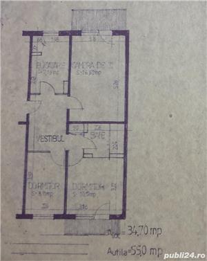 Vind apartament 3 camere valea aurie - imagine 6