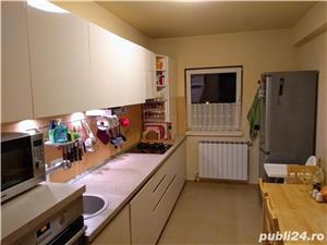 Apartament 3 camere 2 bai mobilat utilat Selimbar - imagine 3
