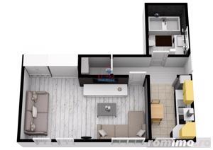 NOU! Apartament modern cu 32 mpu | Comision 0% | Selimbar - imagine 6
