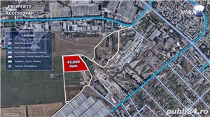Teren Industrial de Vanzare - 43,000 mp - Constanta (C.E.T.) - imagine 5