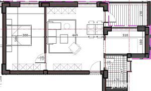 Proiect nou! 2 camere Metrou Eroii Revolutiei - Bd.Pieptanari - imagine 3