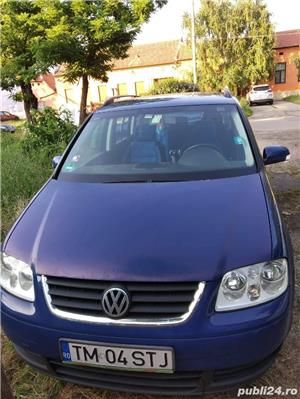 Vand VW Touran 2004, 2.0 TDI, 140 CP - imagine 1