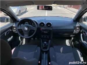 Seat Ibiza 1.4 16V 90cp stare impecabila 2006 E4 km reali 151000 - imagine 7