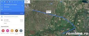 Parcela 1800m la 14km timisoara - imagine 3
