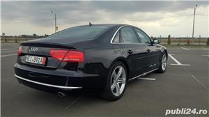 Audi A8 3.0TDI-258 CP 2011 RAR efectuat Xenon Full Led Navi Piele Zoll - imagine 5