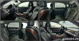 Audi A8 3.0TDI-258 CP 2011 RAR efectuat Xenon Full Led Navi Piele Zoll - imagine 8
