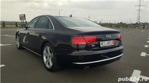 Audi A8 3.0TDI-258 CP 2011 RAR efectuat Xenon Full Led Navi Piele Zoll - imagine 4