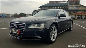 Audi A8 3.0TDI-258 CP 2011 RAR efectuat Xenon Full Led Navi Piele Zoll - imagine 3