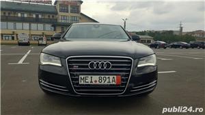 Audi A8 3.0TDI-258 CP 2011 RAR efectuat Xenon Full Led Navi Piele Zoll - imagine 6